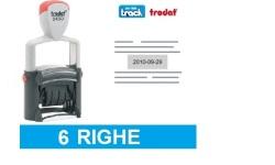 TIMBRO DATARIO 6 RIGHE TRODAT 5460