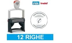 Timbri professionali personalizzati autoinchiostranti 12 righe Trodat 5215