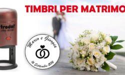 timbri matrimonio