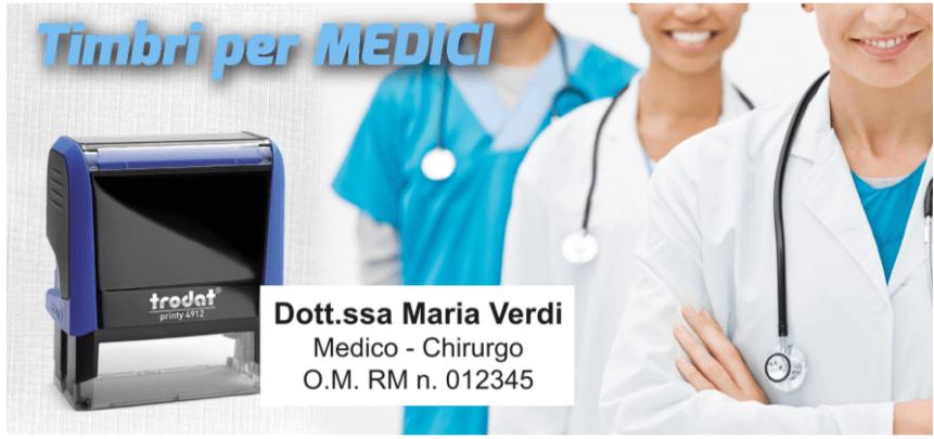 timbro per medici